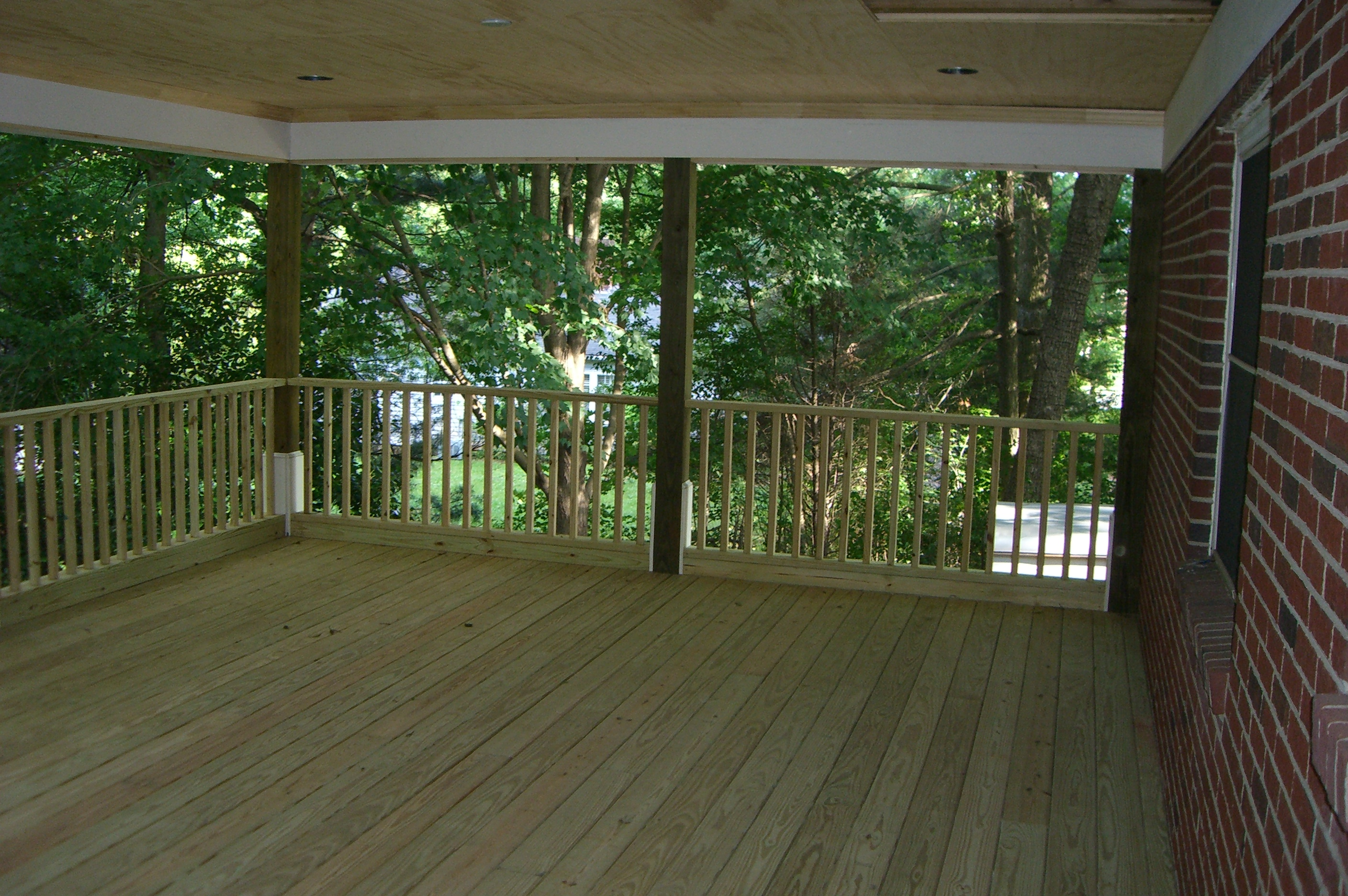 story outdoor interior builder porch screened decks md systems custom of screen maryland tag