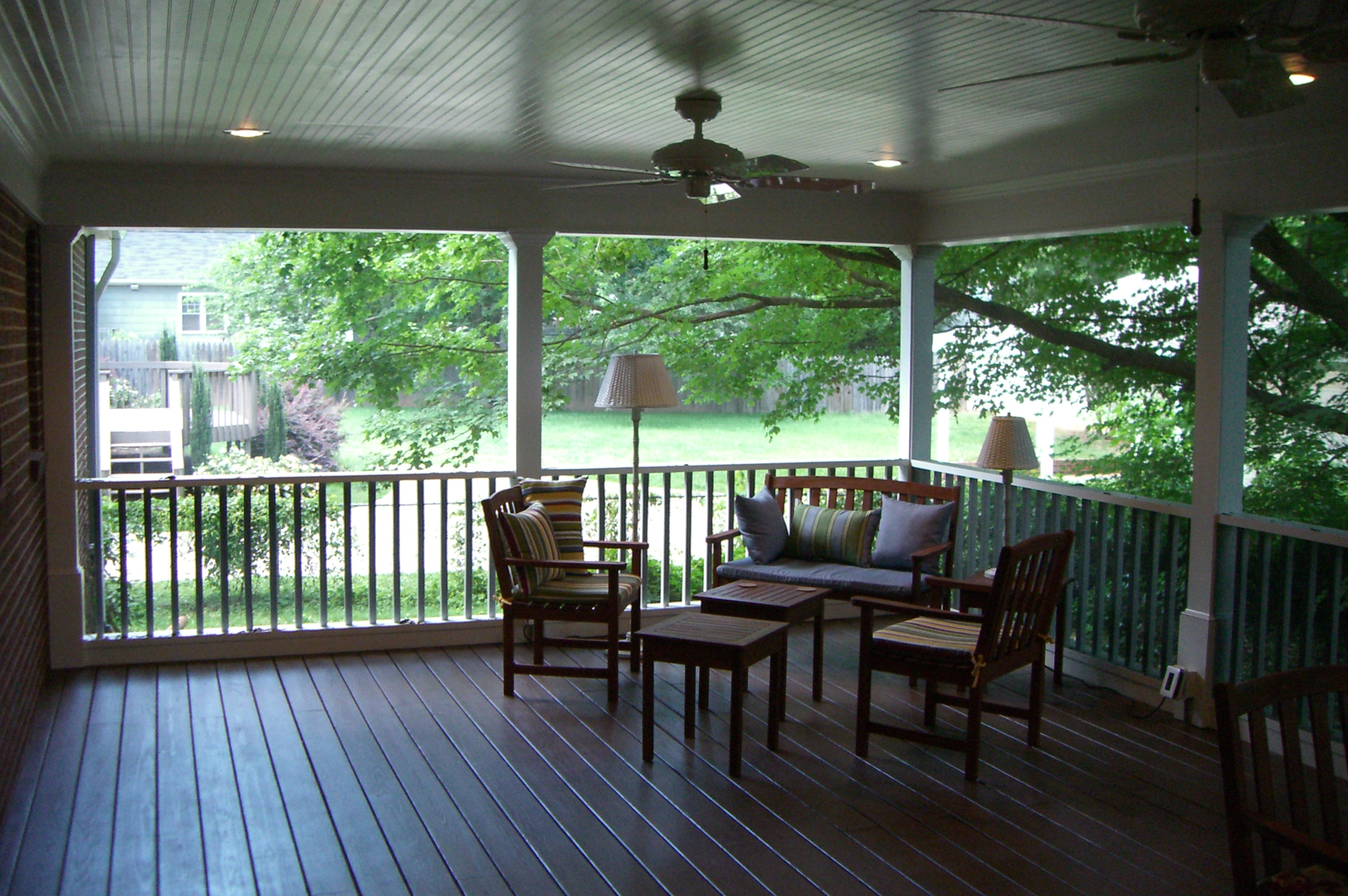 Screen Porches Triad Home Improvements Winston Salem